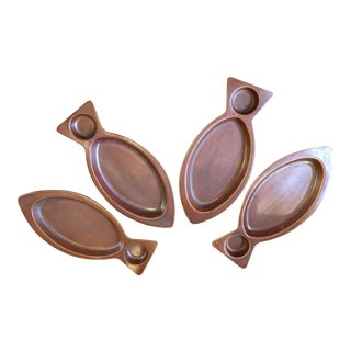 Vintage Ceramic Plates - Set of 4