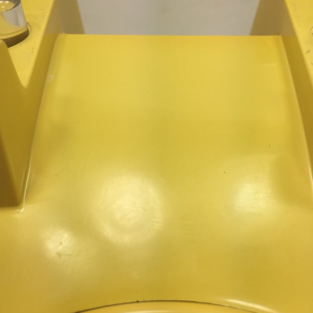 Bright Yellow Rotary Dial Telephone - Image 9 of 11