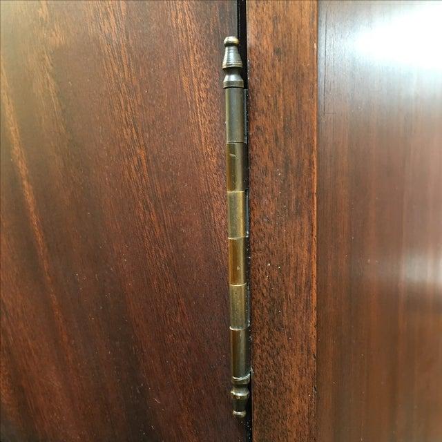 Image of Locking English Storage & Display Cabinet