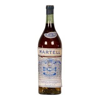 "A large scale replica bottle of ""Martell"" cognac from France c.1940."