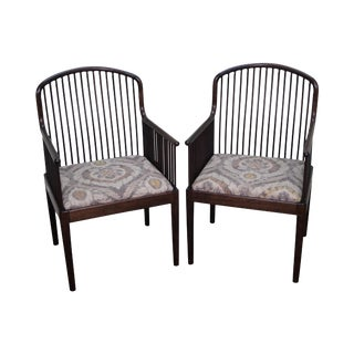 "Stendig ""Andover"" Spindel Arm Chairs - A Pair"