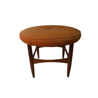 Kofod Larsen for G Plan Teak Vanity Stool