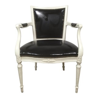John Stuart Attributed French Style Arm Chair