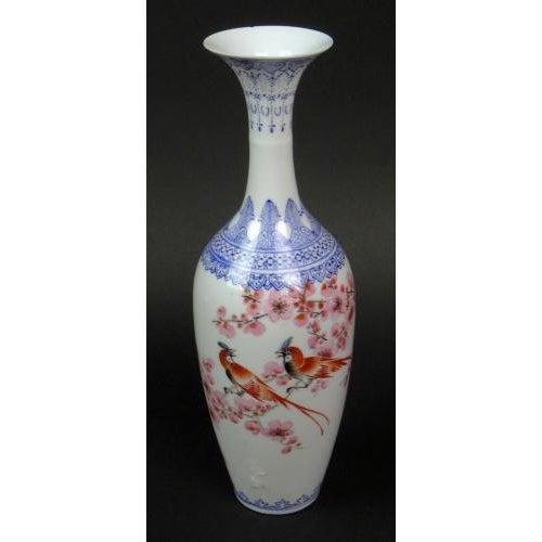 """Antique Chinese """"Eggshell"""" Porcelain Vase - Image 2 of 7"""