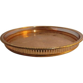 Copper Gallery Tray