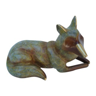 Fox With Beautiful Patina