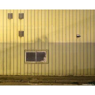 Corrugated Wall - Night Photograph by John Vias