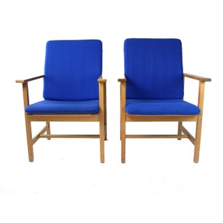 Borge Mogensen Armchairs By Fredericia
