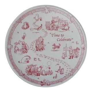 Spode Pooh Cake Plate
