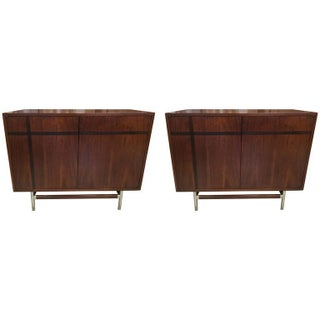 Edmund Spence Inlay Cabinets - A Pair