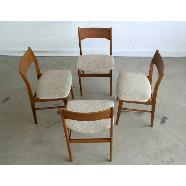 Danish Modern Dining Chairs - Set of 4 - Image 4 of 8