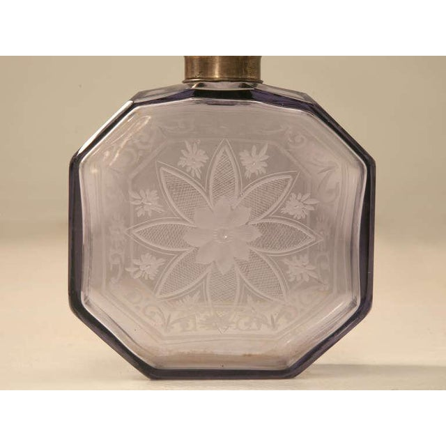 Antique French Engraved Perfume Decanter - Image 6 of 10