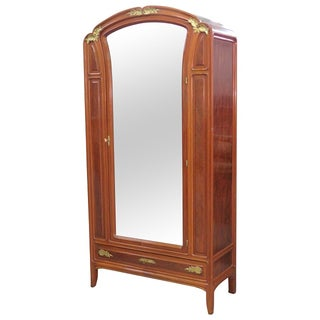 French Gilt Bronze Armoire