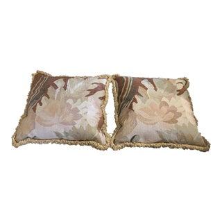 Kreiss Custom Vintage Tapestry Pillows - Pair