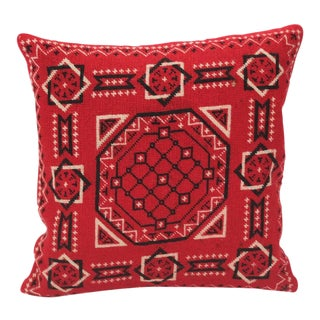 Mexican Handwoven Bandana Pillow