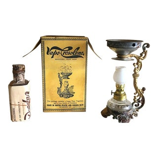 Victorian Era Vapo Cresolene Medical Vaporizer Device