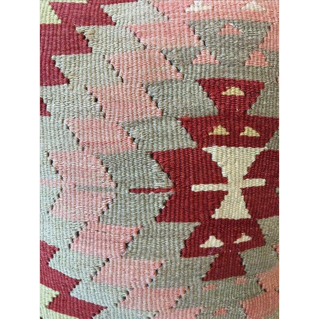 Vintage Kilim Rug Pillow - Image 6 of 6