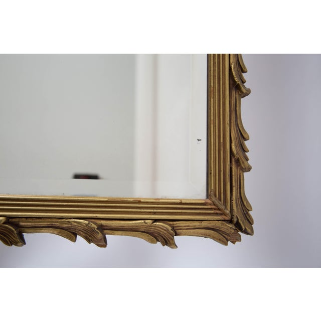 Antique Art Noveau Mirror - Image 5 of 9