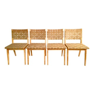 Knoll Risom Collection Chairs - Set of 4
