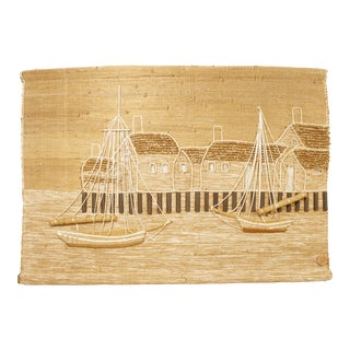 Don Freedman Nautical Hanging Textile Art