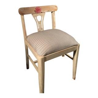 Vintage Art Nouveau Vanity Chair