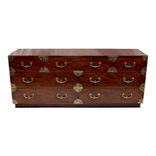 Henredon Chinoiserie Campaign Chest of Drawers