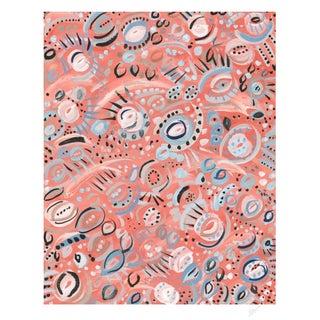 El Coral Watercolor Giclee Print