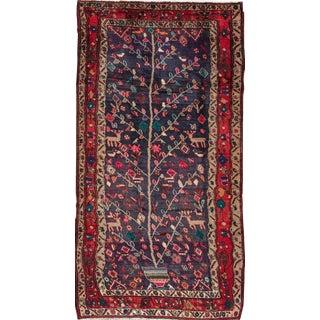 "Apadana Vintage Tree of Life Persian Rug - 4'3"" X 8'3"""