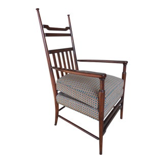 Hickory Chair Cherry Shaker Style Accent Arm Chair