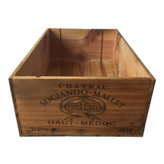 1996 French Wine Crate