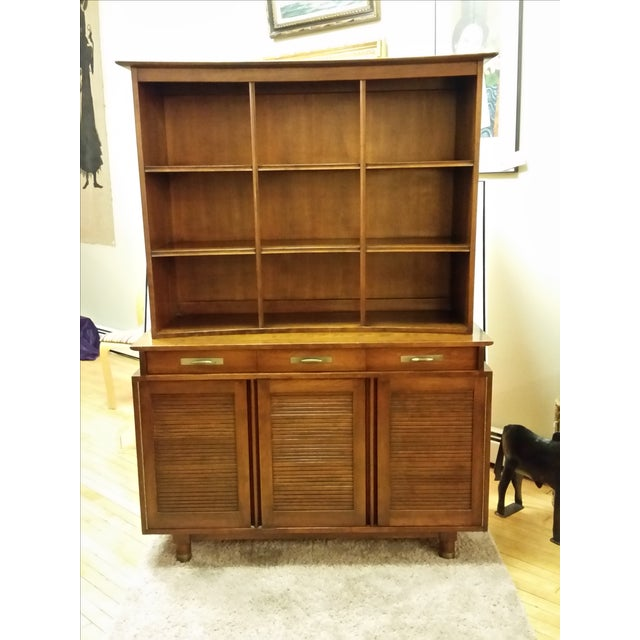 1955 Trans-East Cherry Willett China Top & Hutch - Image 2 of 10