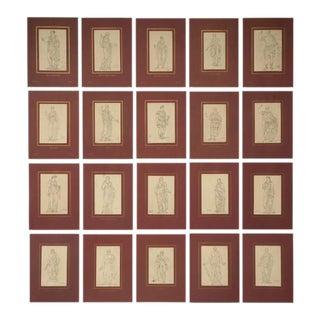 Jacques-Louis David Prints - Set of 20