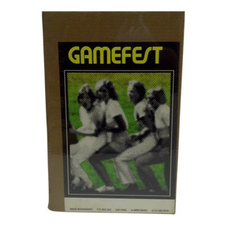 """Vintage """"Gamefest"""" Poster"""