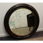 Image of Antique Round Wall Mirror