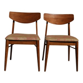 Mid-Century Side Chairs- A Pair