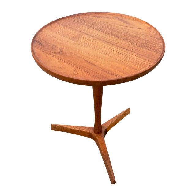 Danish Modern Hans Andersen Tripod Side Table - Image 1 of 6