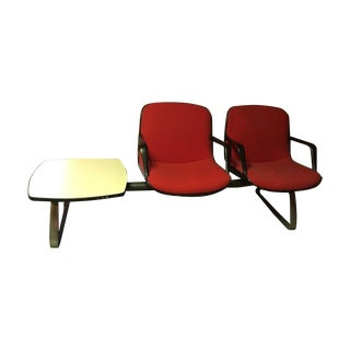 Mid Century Steelcase Floating Chairs & Table