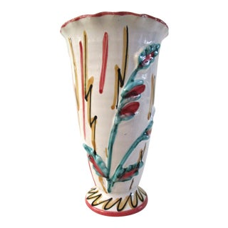 Fratelli Fanciullacci Italian Pottery Vase