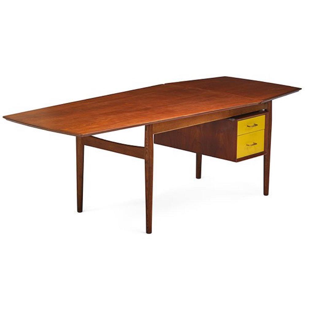 Mid Century Modern Arne Vodder Sibast Desk Chairish