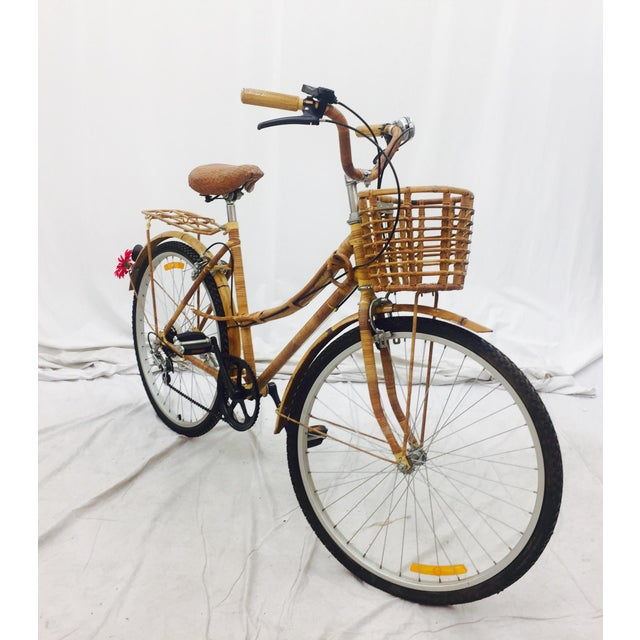 Vintage Bamboo Bicycle - Full Size - Image 5 of 11