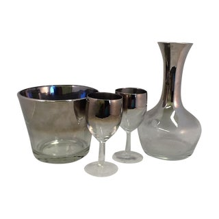 Mid-Century Dorothy Thorpe Bar Set
