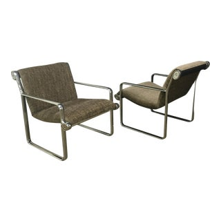 Hannah & Morrison for Knoll Sling Chairs - A Pair