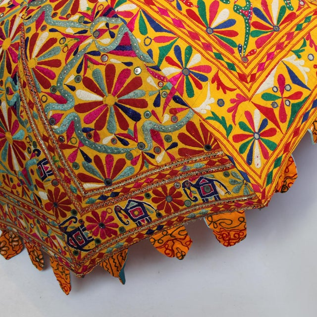 Image of Embroidery & Mirror Work Umbrella