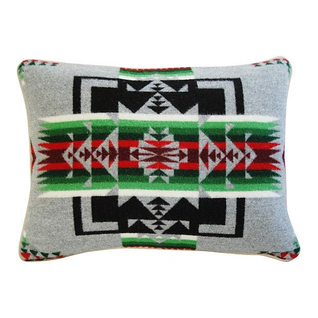 Custom Chief Joseph Pendleton Blanket Pillow - Image 6 of 6