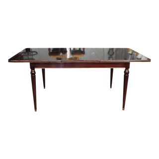 Maison Jansen Mahogany Dining Table