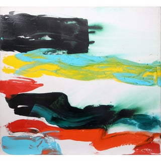 """""""Bolder Strokes 27"""" Painting by Julia Marc"""