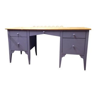 Maine Cottage Blue-Gray Desk