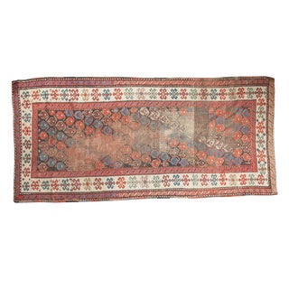 "Antique Karabagh Rug Runner - 3'10"" x 8'"
