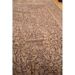 "Image of Distressed Vintage Oushak Carpet - 8'8"" x 11'8"""