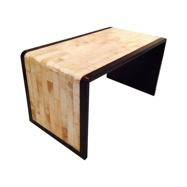 Parchment & Macassar Cocktail Table - Image 1 of 5